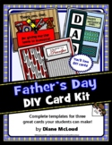 Father's Day Card Kit—Three Complete DIY Card Templates