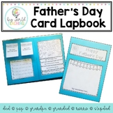 Father's Day Card / Lapbook (Australian and American Spelling)
