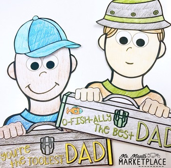 Father's Day Card and Coupon Book Craftivity- Grades 2-5
