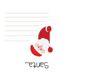 "Christmas Card with Sign Language ""Deer..Santa.."""