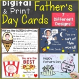 Father's Day Cards Digital Ecards for Distance Learning