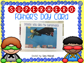 Father's Day Cards: Superhero Themed