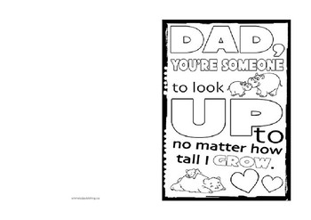 picture regarding Father's Day Card Printable referred to as Fathers Working day Playing cards Templates