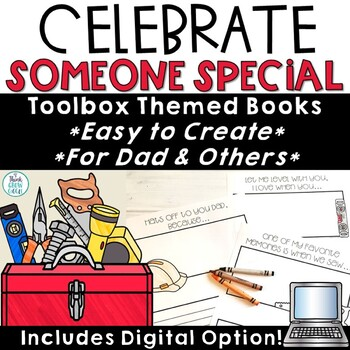 Father's Day Cards and Writing Template
