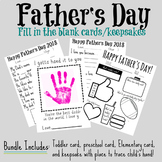 Father's Day Cards with Blanks