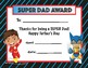 Father's Day Certificate