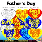 Father's Day Clip Art for Personal and Commercial Use