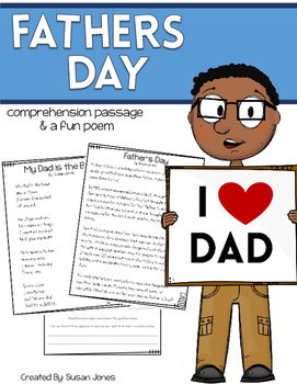 Father's Day Close Read and Poem