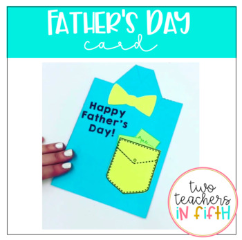 Father's Day Collar Shirt and Bowtie Card/Gift in One!