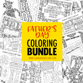 Father's Day Coloring Bundle | Coloring pages and printabl