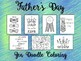 Father's Day Coloring Pages & Cards