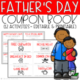 Father's Day Coupon Book - EDITABLE