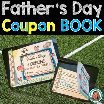 Father's Day Coupon Book Print and Go
