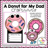 Father's Day Craft {A Donut for My Dad}