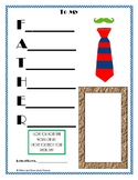 Father's Day Craft: Acrostic Poem