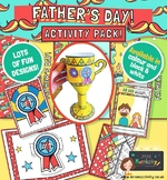 Father's Day Craft And Card Resource Bundle
