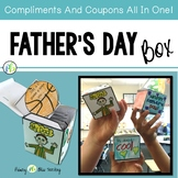 Father's Day Craft  (Box  with Compliments and Coupons all in one)
