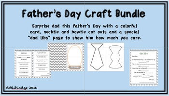 Father's Day Craft Bundle