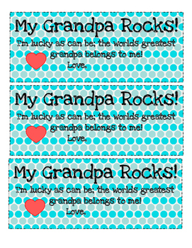 Father's Day Craft - Greatest Dad & Greatest Grandpa