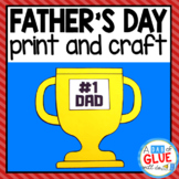 Father's Day Craft: Paper Craft Activity and Creative Writing