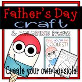 Father's Day Craft Popsicle FREEBIE