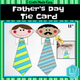 Father's Day Craft - Tie Card