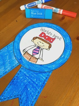 Father's Day Craftivity - a no prep June writing activity