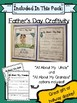 Father's Day Craftivity for 1st Grade