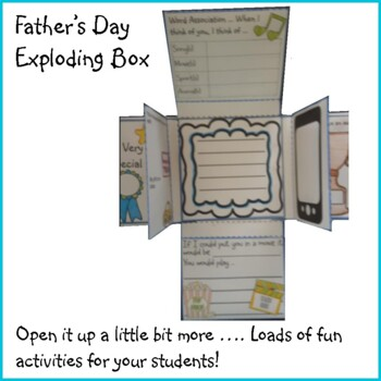 Father's Day Crafts - Exploding Box