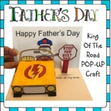 Father's Day Crafts - King of the Road POP-UP