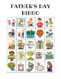 Father's Day Custom Bingo Printables (Color and BW)