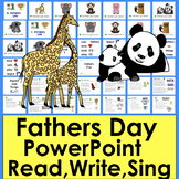 Father's Day Distance Learning PowerPoint
