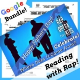 Father's Day Distance Learning Reading Activities Using Rap Song
