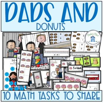 Father's Day – Donuts for Dad (10 Math Tasks)