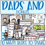 Father's Day Donuts for Dad 10 Math Tasks