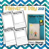 Father's Day Drawing and Writing Templates