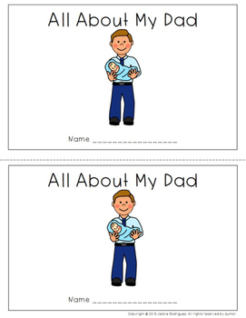 Father's Day Emergent Readers