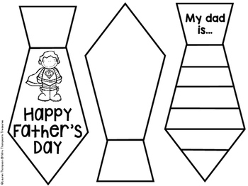 FREE Father's Day Craft