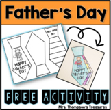 Father's Day FREE Craftivity