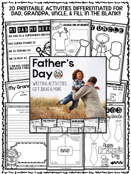 Father's Day: Father's Day Writing Activities and More