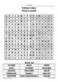 Father's Day ~ Find-a-Word ~ Word Search