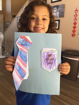 Father's Day Flip Book and Pocket Card Activity Craft Set