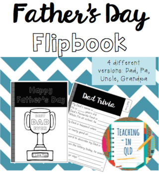 Father's Day Flipbook (4 different versions)