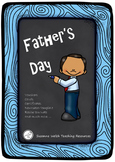 Father's Day Fun - cards, certificates, vouchers, recipe writing, newspaper, etc