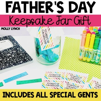 Father's Day Gift {52 Things to Do with Dad Keepsake}