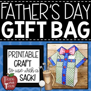 Father's Day Gift Bag Topper