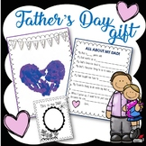 Father's Day Gift, Father's day handprint, Father's Day Interview, and more!