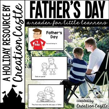 Father's Day Guided Reading Book