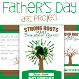 Father's Day Hand Painting Art Project