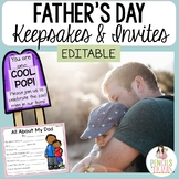 Father's Day Keepsake Crafts and Celebration Ideas